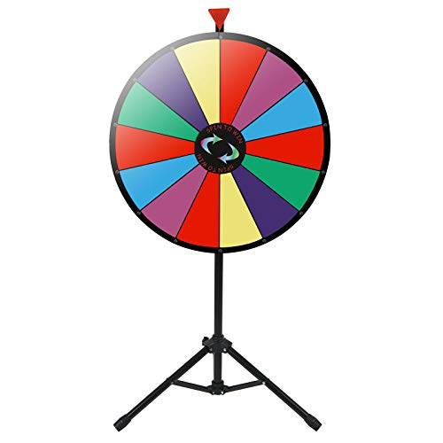 Why Should You Buy MB-THISTAR 24 Prize Wheel Tripod Floor Stand Editable Dry Erase Color Adjustable...