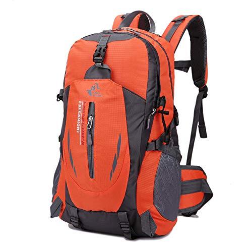 Walker Valentin Zaino IBHT 40L Climbing Borse Alpinismo Zaino tattico Borsa a Spalla d'escursione di Campeggio Viaggiare 1 (Color : Orange)