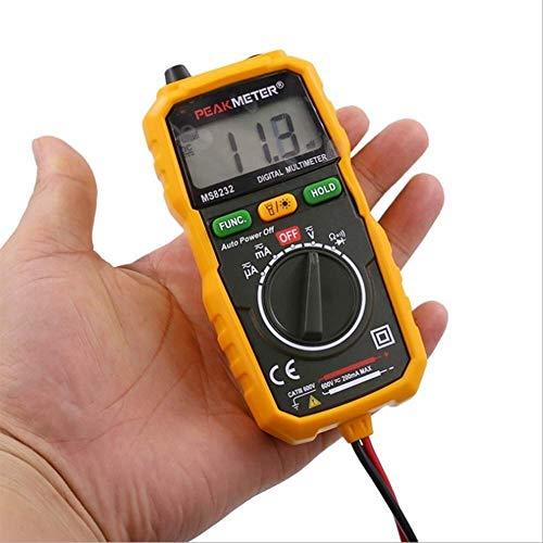 DZX Misst Spannungsmultimeter, Digitalanzeige-Multimeter Taschenuhr Hintergrundbeleuchtung Berührungsloses Elektroskop Automatisches Bereichsmultimeter