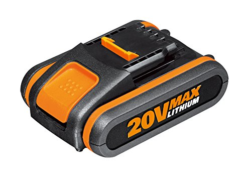 Worx WA3551.1 Batteria 2.0Ah 20V agli Ioni di Litio, Worx Power Share 20V
