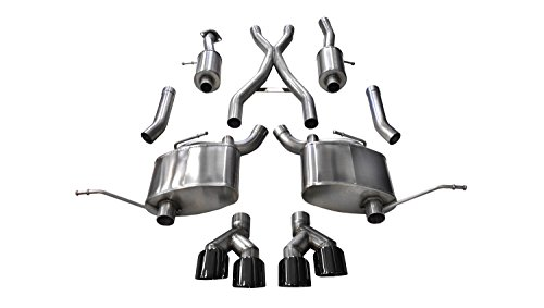 Corsa 14992BLK Cat Back Exhaust (Jeep Grand Cherokee Summit Edition 5.7L V8)
