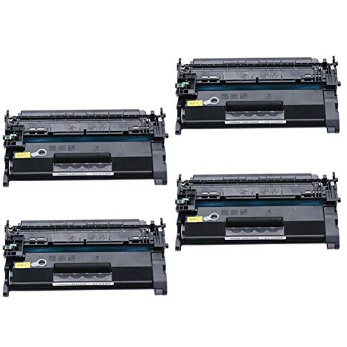 KSSUN Reemplazo de Cartucho de tóner Compatible para HP 26A CF226A Laserjet Pro M402n M402dn M426 M402d M402dw Laser Jet MFP M426fdw M426fdn M402 M426dw Impresora, con Chip, Alto rendimiento-4-set