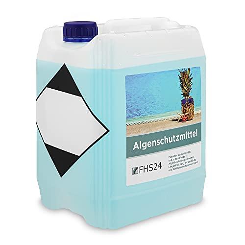 FHS24 Algeschutzmittel 5l Algenverhüter schaumfrei Pool Wasserpflege Poolpflege