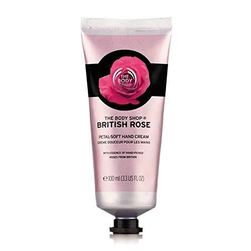 The Body Shop British Rose Petal-Soft Hand Cream - 100ml