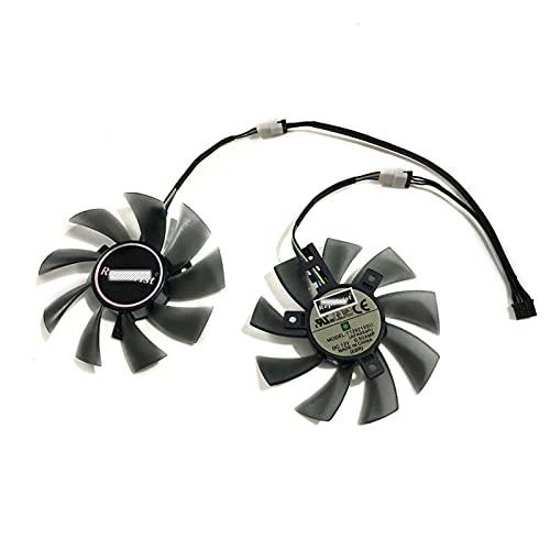 Jinyouqin Ventilatori di Raffreddamento GPU RX480 per GIGABYTE RX 480 GTX 1060/1050 Windforce GTX 1050TI G1 Gaming VGA Card Raffreddamento