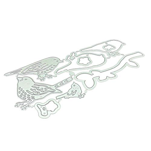Lukay handgemaakte doe-het-zelf vogels en bomen snijden sterven met stempel koolstofstaal bezuinigingen voor Decor kaart Scrapbooking Embossing Hollow Art handgemaakte gift