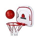 BBZY Hoop de Baloncesto con una Bola y Bomba de Aire,Mini Borde de Baloncesto for niños Actividad de Juguete,Adecuado for niños y niñas como Regalos (tamaño : 30cm)