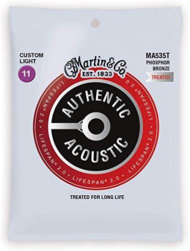M&Co MA535T Phosphor Bronze Custom Light (11-52) Authentic Acoustic Guitar...