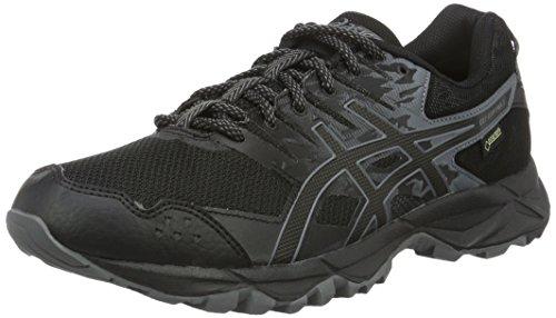 Asics Herren Gel-Sonoma 3 G-Tx Laufschuhe für Das Training auf Der Straße, Schwarz (Black / Onyx / Carbon), 40.5 EU