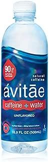 Avitae Natural Caffeine Water 90mg Caffeine | No-Crash Coffee & Soda Substitute | Green Coffee Bean Extract, Zero Chemicals, Zero Sugar, Zero Calories (12 Pack)