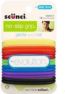 Scunci N/S Elastic 14ct A Size 14ct Scunci No Slip Elastics Assorted Colors 14ct