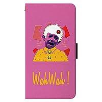 iPhone12 / iPhone12Pro iPhoneケース 手帳型 [カード収納/スマホスタンド/ストラップホール] アイフォンケース スマホケース 手帳型ケース POPイラスト-BOY ピンク CollaBorn