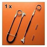 BYOLPMKK For Mercedes Vito W638 1996-2003 regulador de la Ventana Kit de reparación de la Puerta Frontal Izquierda