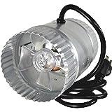suncourt duct fan - SUNCOURT INC DB204 in-Line Duct Air Booster Fan, 4 Inch
