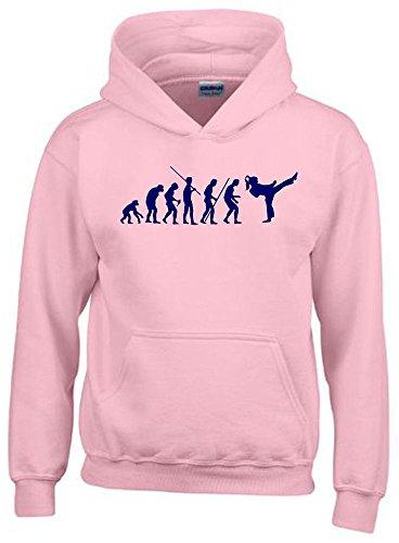Coole-Fun-T-Shirts Mädchen Karate...