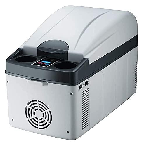 SHUHANG Refrigerador de automóviles 20l Caja Fresca termoeléctrica con cómodo Soporte de la Taza de reposabrazos Bass Inclinado Estable para el hogar Inicio (Size : 50x26.5x34.5cm)