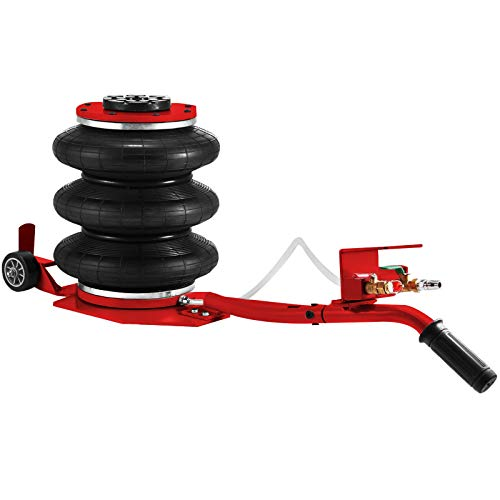 Bestauto Pneumatic Car Jack 6600lbs Heavy Duty Air Jack Lifting Height Up to 16 Inch