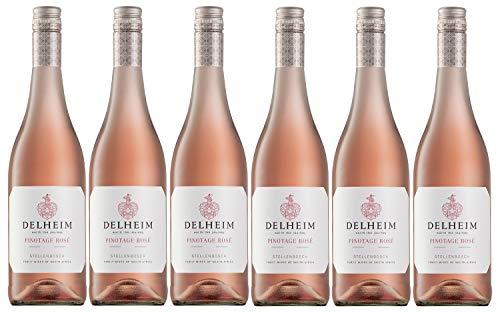 Delheim Pinotage Rosé Stellenbosch, Südafrika, Jahrgang 2020 (6 x 0,75 l)