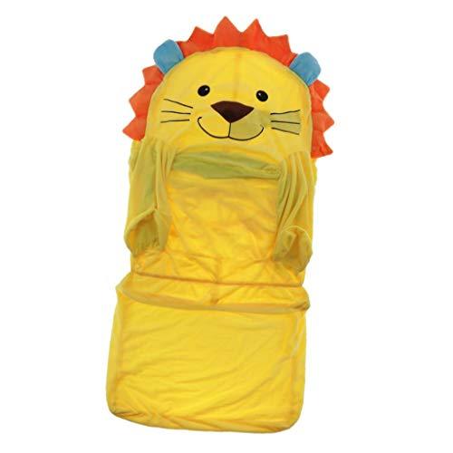 Housse de Canapé Revêtement de Coussin Extensible pour Bébés de 1 à 7 Ans - Lion Jaune
