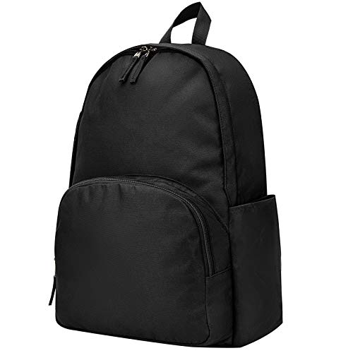 Vorspack Backpack, Customized Classic Backpack Lightweight and Water Resistant for Men and Women - Black