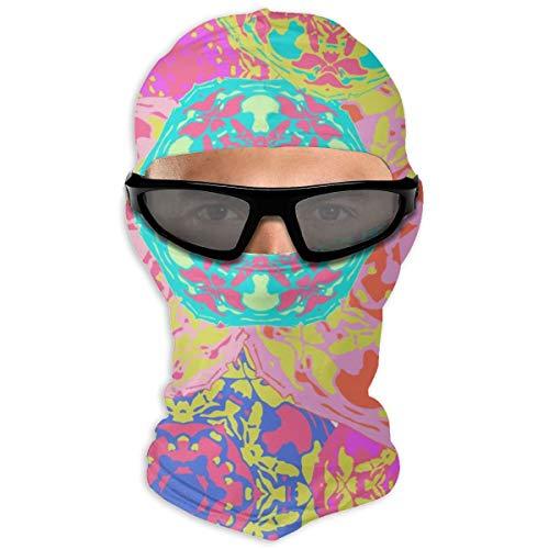 Nonebrand Gypsy Nahtloses Muster Vollgesichtsmaske Sonnenschutz Winddichte Maske Motorradmaske Sturmhaube Hut Herren Damen Jugendliche Outdoor Sport Reiten Wandern Skifahren