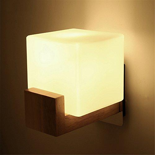 JJZHG wandlamp, waterdicht, stroom/generation, slaapkamer/woonkamer/wandlamp/bed/lamp/creatief/led/balkon/wandlamp/zonder lichtbron