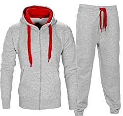etic Tracksuit FGocgt Mens Casual Athlull Zip Sweatshirt Long Sleeve Jogging Set