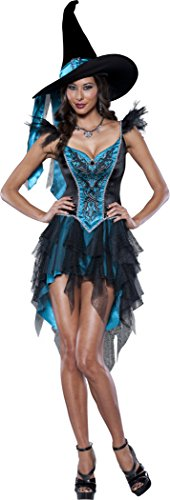 Women's Black Witch Costumes - InCharacter Costumes Women's Enchanting Witch Costume,
