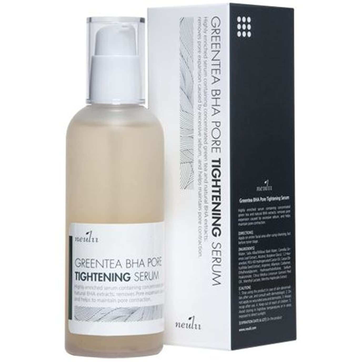 スナッチコーラス接続詞Neulii Greentea BHA Pore Tightening Serum 100ml
