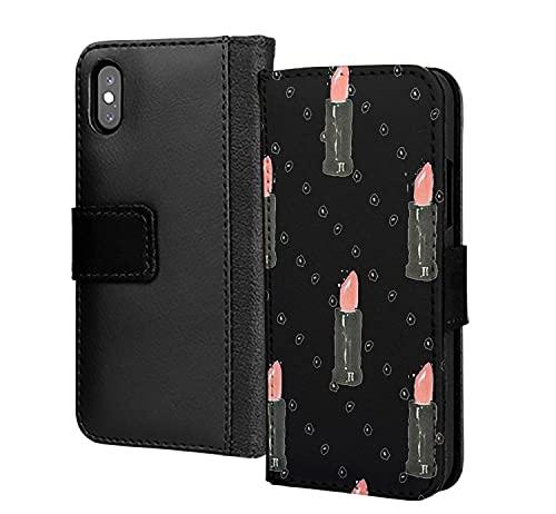 Lindo lápiz labial Kmakeup señoras niñas hermoso diseño pu cuero cartera en la tarjeta teléfono caso cubierta para Samsung Galaxy A51