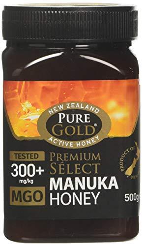 PURE GOLD Premium Select Manuka Honey 300+ MGO 500 g