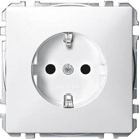 Merten Fi-Prises-utilisation PWGL Schuko BRS 233819