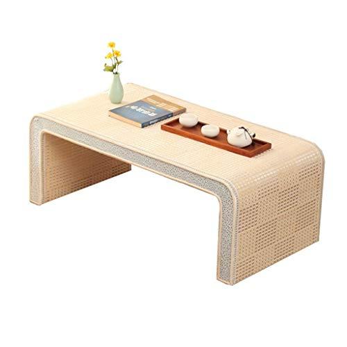 Tables basses Meubles Petite en Bois Massif Table d'ordinateur de lit Petite Table de Jardin d'enfants, Forte Charge Tables (Color : Blanc, Size : 30 * 45 * 60cm)