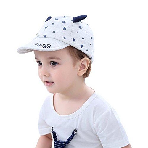 Fancyland Casquette de Baseball Visière Soleil Bébé Étoiles Chapeau de Plage Piscine Pêche Voyage pour Enfants Garçons
