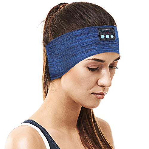 Sleep Headphones for Men Bluetooth Sleeping Headphones,V5.0 Bluetooth Headband with Ultra-Thin HD Stereo Speakers Perfect for Gift, Beauty, Sleeping, Jogging, Yoga, Insomnia, Air Travel, Meditation
