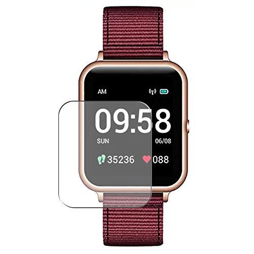 Vaxson 3 Stück Schutzfolie, kompatibel mit Lenovo S2 Smartwatch smart watch, Displayschutzfolie TPU Folie [ nicht Panzerglas ]