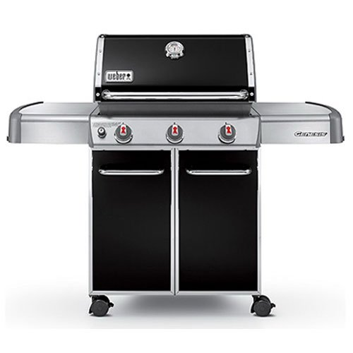 Big Sale Weber Genesis 6611001 E-310 637-Square-Inch 38,000-BTU Natural-Gas Grill, Black