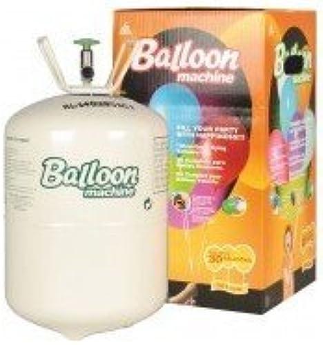 RIETHMULLER Bonbonne d'Hélium Jetable pour 30 ballons