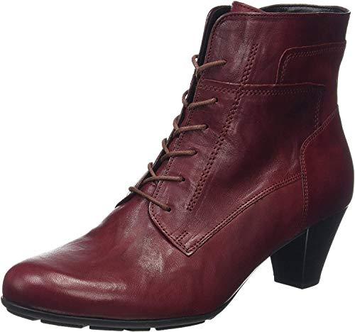 Gabor Shoes Damen Basic Kurzschaft Stiefel, Rot (Dark-red 55), 38.5 EU