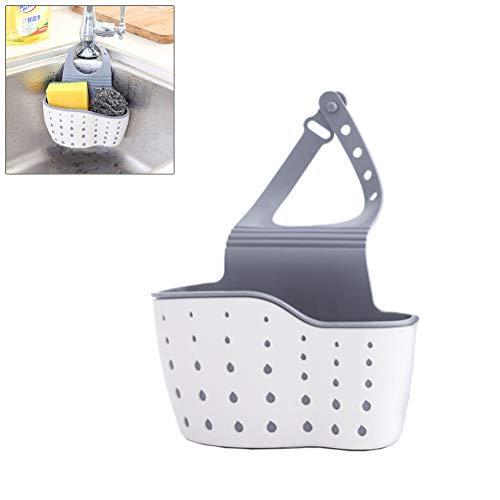 Organiseur de cuisine pour lavabo de cuisine 22 * 13 * 5,5 cm Weiß