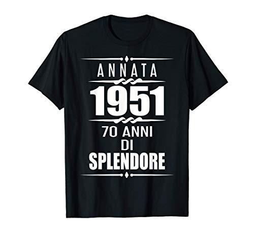 70 esimo compleanno 1951 70 ans regalo 70 anni compleanno Maglietta