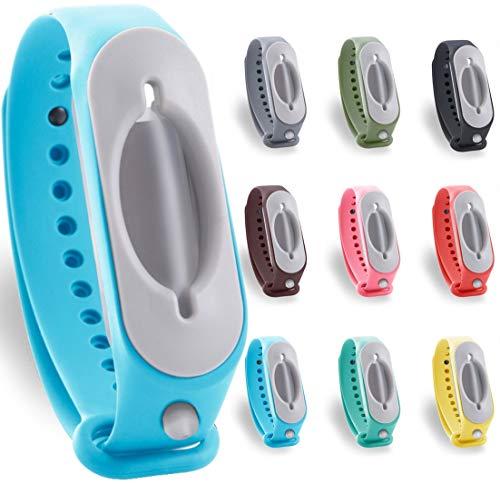 2.0 Desinfektionsarmband Hygienearmband für unterwegs cleanbrace (hellblau)