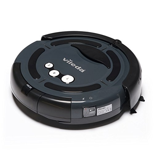 Vileda A3 147271 Cleaning Robotic Vacuum Cleaner, UK Version, Grey
