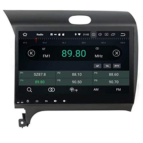 ROADYAKO pour Kia K3 2012 2013 2014 2015 Android 8.0 Navigation GPS Automatique Radio stéréo 3G WiFi Lien de rétroviseur RDS FM AM Bluetooth AUX Multimédia Audio Vidéo