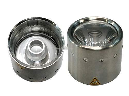 CRESSI - ESZ 510100/391 : Torcia di ricambio/luce subacquea: acciaio inox + OBLO FROGMAN