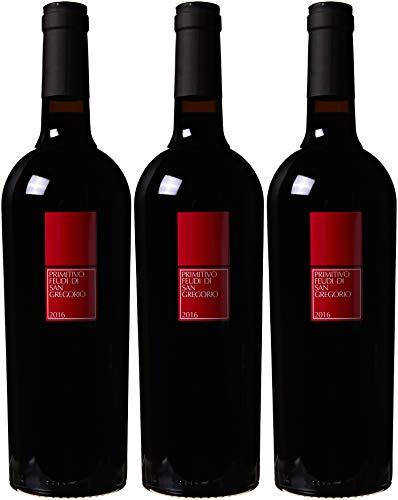 Feudi Primitivo Di Manduria Doc - 3 Bottiglie da 750 ml