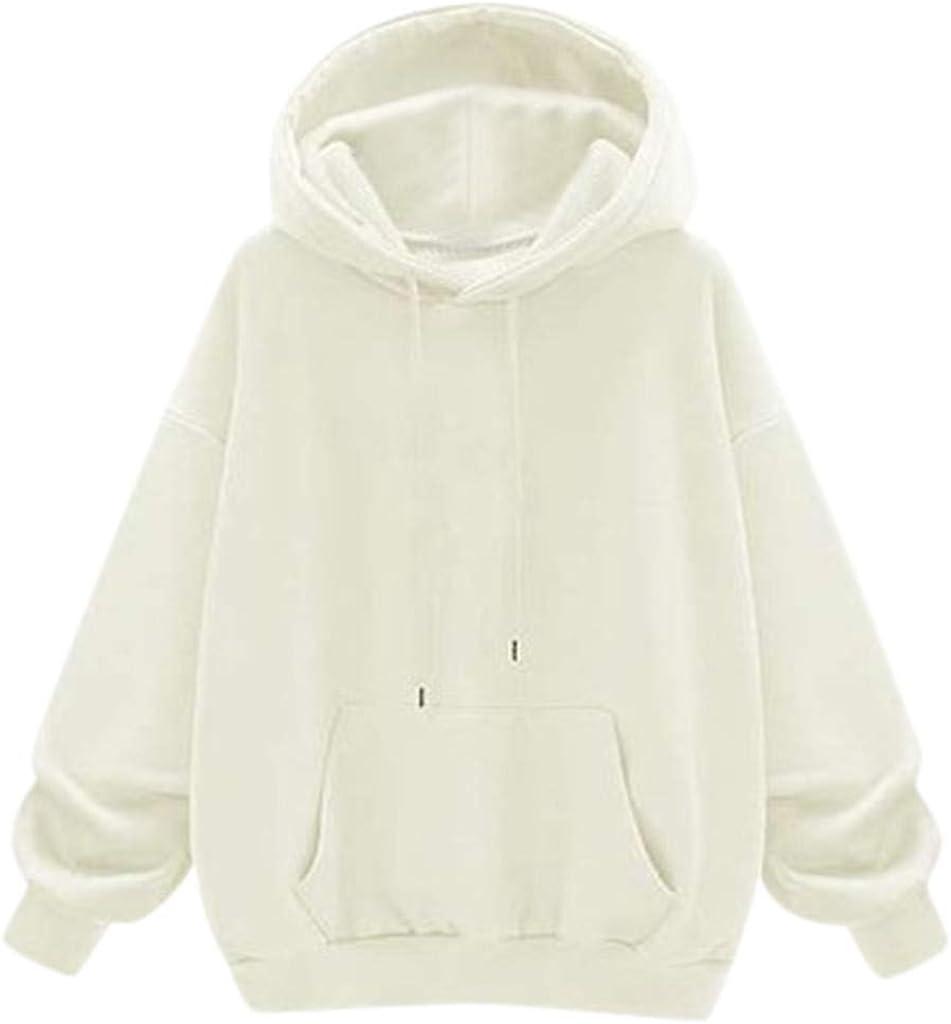 F_Gotal Autumn Austin Mall Women's Hoodies Winter Ho Long Solid Sleeve Warm Manufacturer OFFicial shop