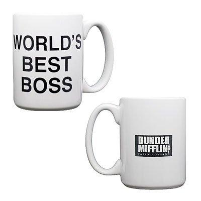 The Office Dunder Mifflin World's Best Boss Coffee Mug by NBC