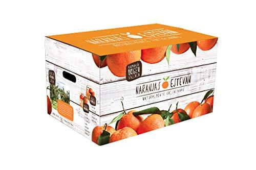 Caja de 10 kg de naranjas de Valencia (comarca La Safor), recolectadas el mismo dia que se envían.