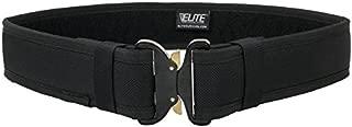 Elite Survival Systems Duratek Molded Duty Belt 2.25 Wide Cobra Buckle MV225CB-L Duratek Molded Duty Belt 2.25 Wide Cobra Buckle Black, Large